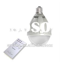 Remote controlled bulb led