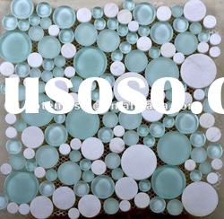 Round glass mosaic tile for decorative G2-1
