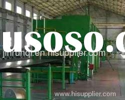 Rubber product making machine