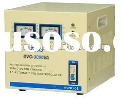 SVC-3000VA single phase high accuracy full automatic AC voltage stabilizer