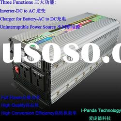 Sine Wave Power inverter for car/home/ solar use 3000W with ac charger and ups dc to ac