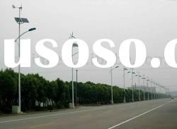 Solar Wind LED Street Lights, Wind Street Lamps, Solar Wind Hybrid Lights