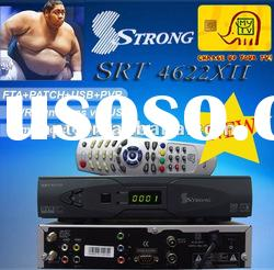 Support Digital Set Top Box Tv Receiver Strong 4622xII used for Middle East/Africa