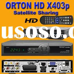 Support HD Set Top Box Tv Receiver ORTON X403p used for Middle East