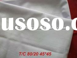 T80/C20 Grey Fabric for Bed Sheet 45S 110*76 47""