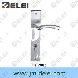 THP003 304 Stainless Steel Door Lever Handle with Plate