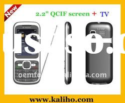 TV mobile phone with dual sim card