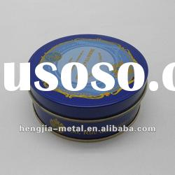 Tin box for food, round ,Size:Dia.102X50 Hmm