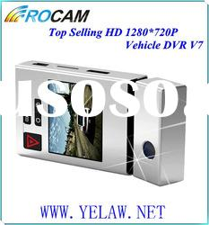 Top selling Dual cams car black box recorder Rocam V7 with motion detection