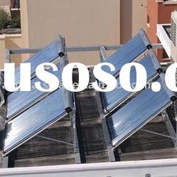 Tubular heat pipe Solar water Collector for project heating