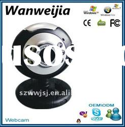 USB 6 LED Webcam PC Camera with mic