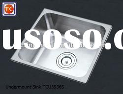 Undermount Stainless Steel Kitchen Sink TCU3936S
