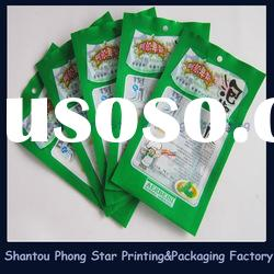 Vacuum Plastic Food Packaging For Frozen Food