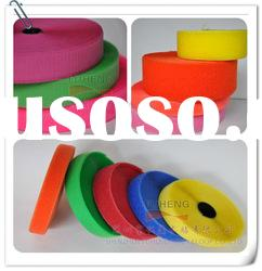 Velcro tape pink,red,yellow,blue