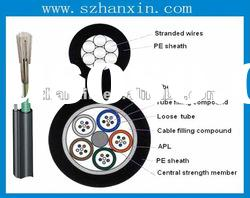 Waterproof and Fire Resistant Optical Fiber Cable GYTC8A