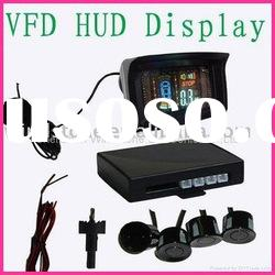 Wireless VFD Display Parking sensor With 4 Sensors,radar de recul-WRD-088C4
