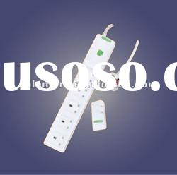 Wireless remote control socket/switch/plug power strip