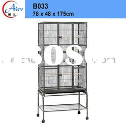 With stand bird cage