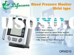 Wrist type mini wrist Blood pressure monitor