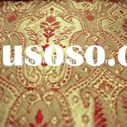 Yarn Dyed Silk Brocade Curtain Fabric