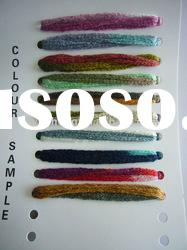 acrylic big mesh (net) yarn for hand knitting color card