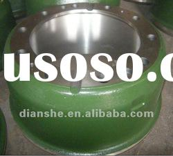 auto parts heavy duty truck howo brake drum