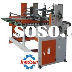 automatic corrugated paperboard feeder/carton box making machine/corrugated carton machine