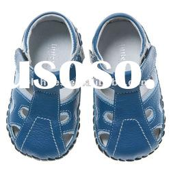 boys' hotselling soft soled baby leather shoes brown BB-B27127-BR