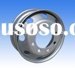 brand steel truck wheel, truck steel wheel rim, tubeless steel wheel