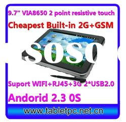 "cheapest price 9.7inch mid tablet pc with phone sim card wifi camera 256M 4G 9.7""(Pad911)"