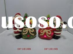 colorful ceramic xmas handicraft