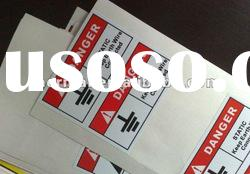 commercial thermal printing self-adhesive heat seal labels