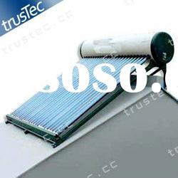 compact solar water heater, non-pressure, solar hot water system