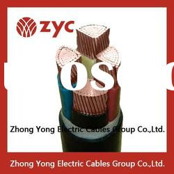 copper conductor PVC insulated nyy power cable