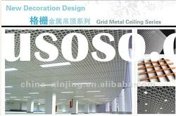 decorative aluminum false ceiling/open cell ceiling/grid ceiling