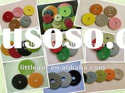 diamond wet flexible polishing pad for granite