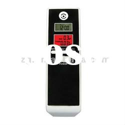 digital breath alcohol tester with LCD display