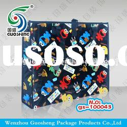 fashionable patterns sewing non-woven shopping bag