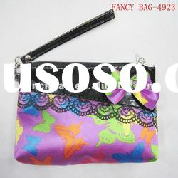 girls cosmetic bags with lace