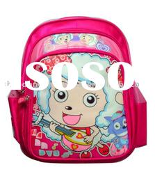 high quality school bags with lovely carton picture
