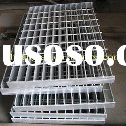 hot dippped galvanized serrated welded steel bar grating