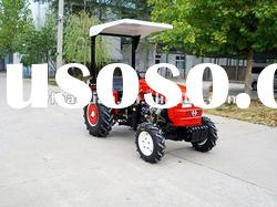 hot sale 25-35hp small tractor with mower,front end loader .backhoe,trailer,plough