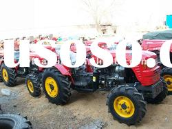 hot sale 25hp,30hp,35hp small garden tractor with mower,front end loader .backhoe,trailer,plough