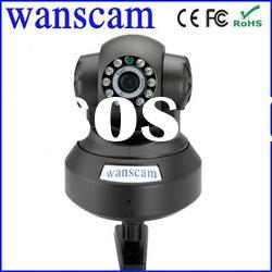 indoor night vision security cheap audio wireless wifi pan/tilt ip camera