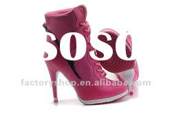 latest ladies high heel shoes 2012 hot selling wholesale, accept paypal