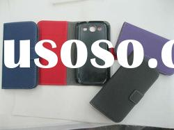 leather cases for samsung galaxy S3 9300 korea with antenna hole
