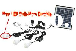 low-price portable 4w home solar power system