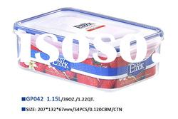 microwave plastic food storage container 1150ml
