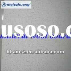 mineral wood fiber acoustical ceiling tiles