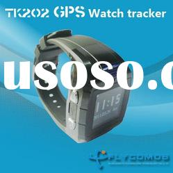 mini GPS/GSM tracker personal watch tracking system